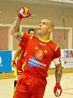 Spanish field hockey player
