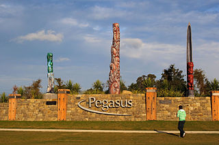 Pegasus Town Place in Canterbury, New Zealand