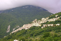 View of Pennapiedimonte