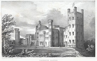Penrhyn Castle: the seat of the Honble. E. G. Douglas Pennant. Carnarvonshire north Wales