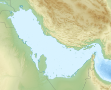 Farsi Island is located in Persian Gulf