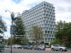 Council House, Perth - Council House in April 2010, viewed from St Georges Terrace.