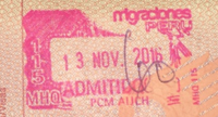 Peru entry stamp 2016.png