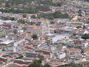 Pesqueira, a city in the Agreste region.