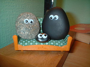 Image of a pet rock