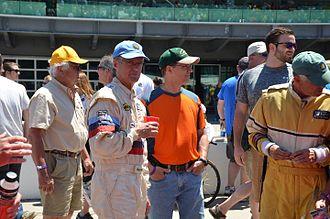 Pete Halsmer - Pete Halsmer at the 2016 Brickyard SVRA Pro-Am race at the Indianapolis Motor Speedway.