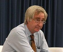 Peter Day ĉe la BBC Media Futures Conference 2008 kroped.jpg