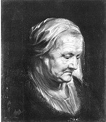 Kopfstudie einer alten Frau (Kopie nach)