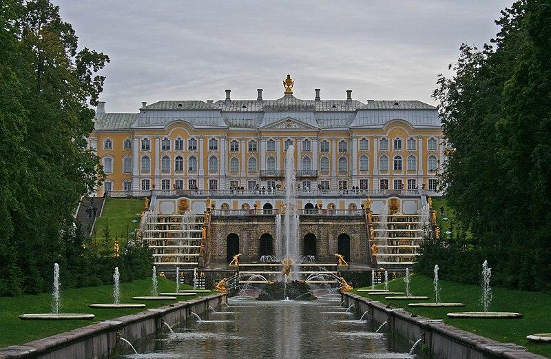 File:Peterhof Fountains 01 - Big Cascade 02.jpg