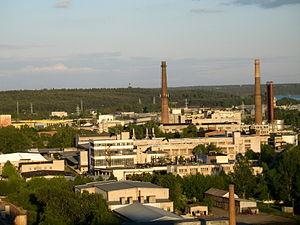 Petrašiūnai - Industrial landscape of Petrašiūnai