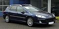 Peugeot 407 SW V6 HDi FAP 205 Bi-Turbo Platinum (1. Facelift) – Frontansicht (1), 28. Mai 2011, Hilden.jpg
