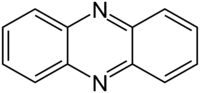 Skeletal formula of phenazine