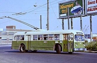 J. G. Brill Company - A 1947 ACF-Brill trolley bus