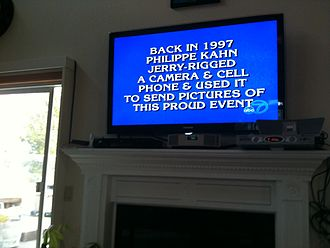 Philippe Kahn - July 1st, 2010, Double Jeopardy question