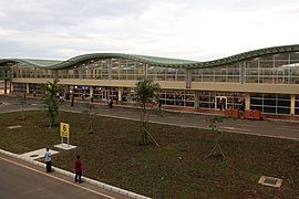 Photo shows the exterior of the Bohol-Panglao International Airport.jpg