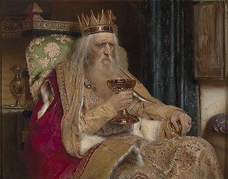 Der König in Thule - Pierre Jean Van der Ouderaa, The King of Thule, 1896
