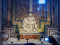 Pietà by Michelangelo in Saint Peter's Basilica - Vatican City.jpg