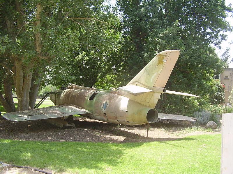 מטוס  מיסטר בקיבוץ חולתה