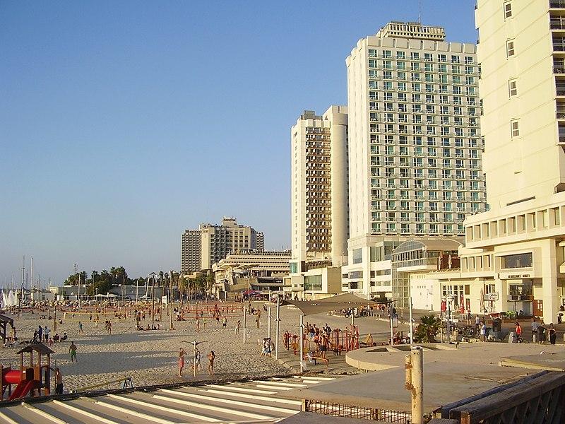 חוף גורדון בתל אביב