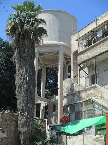 מגדל מים בשכונת מונטיפיורי