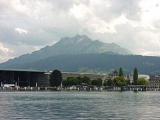 Pilatus (mountain) mountain in Switzerland