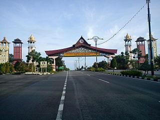 Ayer Keroh town in Melaka