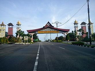 Ayer Keroh - Entrance gate to Ayer Keroh