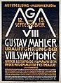 Plakat zur Uraufführung der VIII. Symphonie von Gustav Mahler.jpg