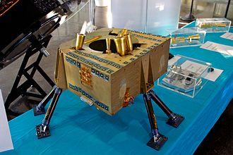 Planck (spacecraft) - LFI focal plane model