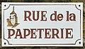 Plaque Rue Papeterie - Vault-de-Lugny (FR89) - 2021-05-17 - 1.jpg