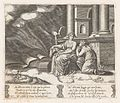 Plate 27- Proserpine give Psyche the box of beauty, from the Story of Cupid and Psyche as told by Apuleius MET DP862833.jpg
