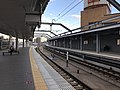 Platform of Orio Station (Kagoshima Main Line) 5.jpg