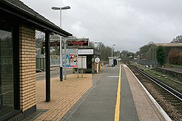 Platform on Micheldever Station looking towards Winchester - geograph.org.uk - 357107.jpg