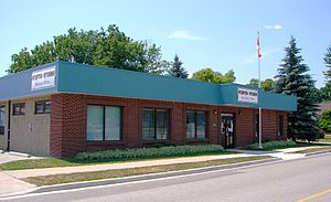 Plympton–Wyoming - Plympton-Wyoming municipal office