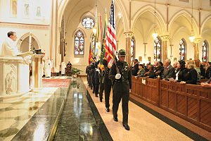 Blue Mass - Blue mass at the Cathedral of St. Matthew the Apostle (Washington, D.C.)