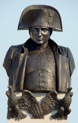 English: Napoleon Bonaparte monument in Warsaw