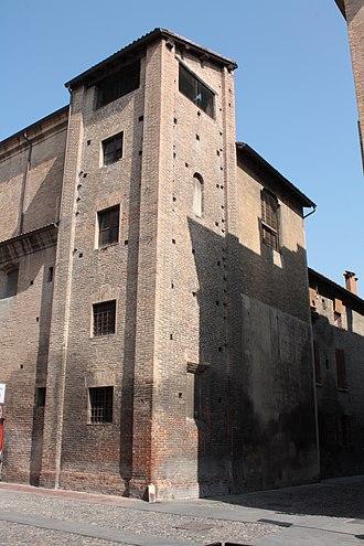 Santa Maria della Pomposa, Modena - Image: Pomposa rear
