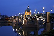 Saint-Pierre's bridge in Toulouse