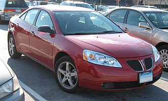 Pontiac G6 - Red G6