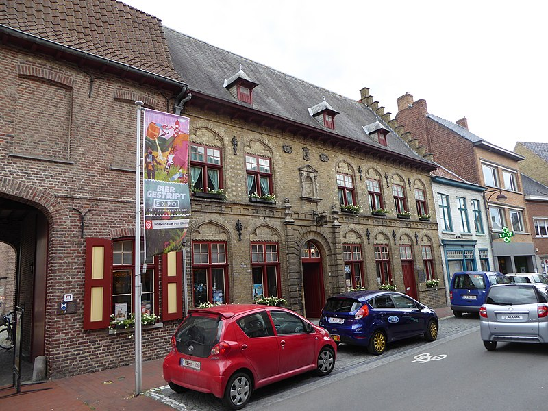 De  Stadsschaal Poperinge Province de Flandre-Occidentale Belgique     This is a photo of onroerend erfgoed number 31047