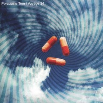 Voyage 34: The Complete Trip - Image: Porcupine Tree Voyage 34 (single cover)