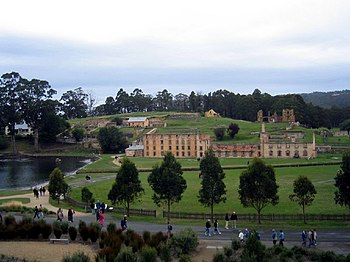 Port Arthur on Tasmania was one of Australia's...