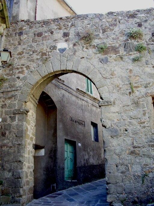 PLa Porta Talassese ad Arcidosso, Grosseto