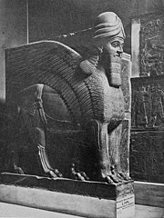 Portal Guardian from Nimroud. British Museum