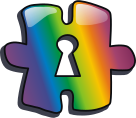 Icon for Wikimedia project´s LGBT portal (Port...