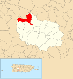 Portillo, Adjuntas, Puerto Rico Barrio in Puerto Rico