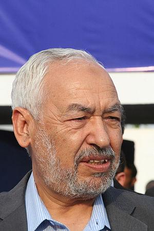 Rached Ghannouchi, président du parti Ennahda