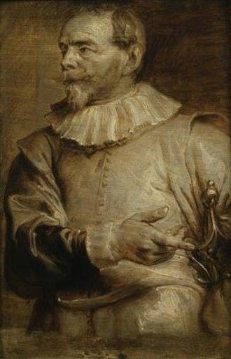 Sebastiaen Vrancx - Sebastiaen Vrancx by Anthony van Dyck