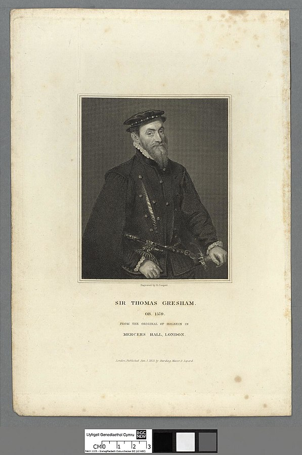 Sir Thomas Gresham ob. 1759