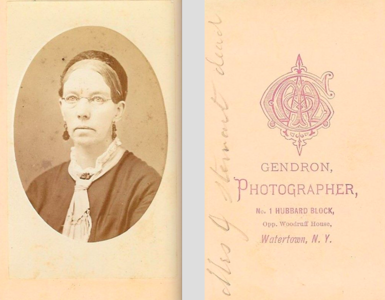 file portrait of bespectacled woman by gendron of watertown wikimedia commons. Black Bedroom Furniture Sets. Home Design Ideas